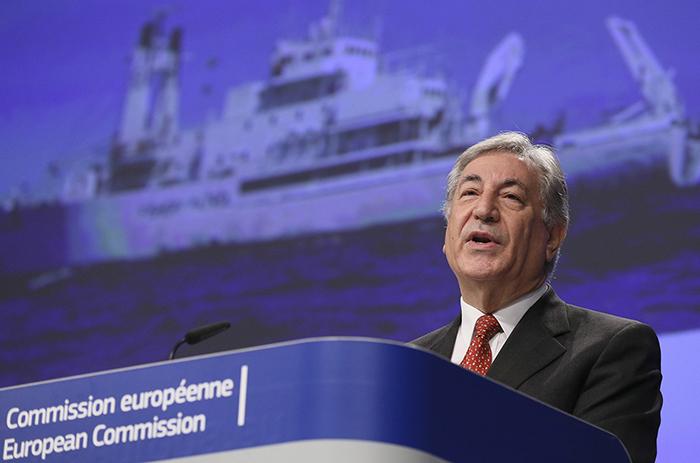 Ο Ευρωπαίος Επίτροπος Περιβάλλοντος, Θαλάσσιας Πολιτικής και Αλιείας κ. Karmenu Vella