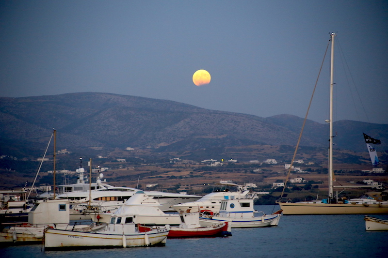 Antiparos sunset