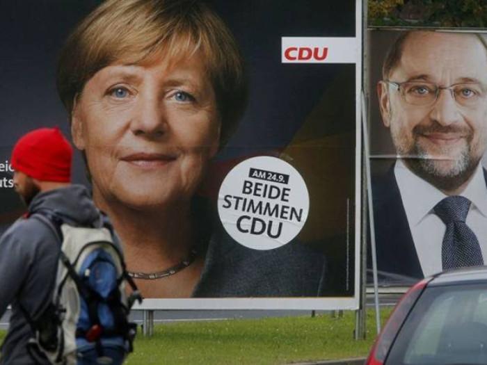 Πρώτη αλλά αποδυναμωμένη η Μέρκελ, πανωλεθρία για το SPD, τρίτο κόμμα η ακροδεξιά
