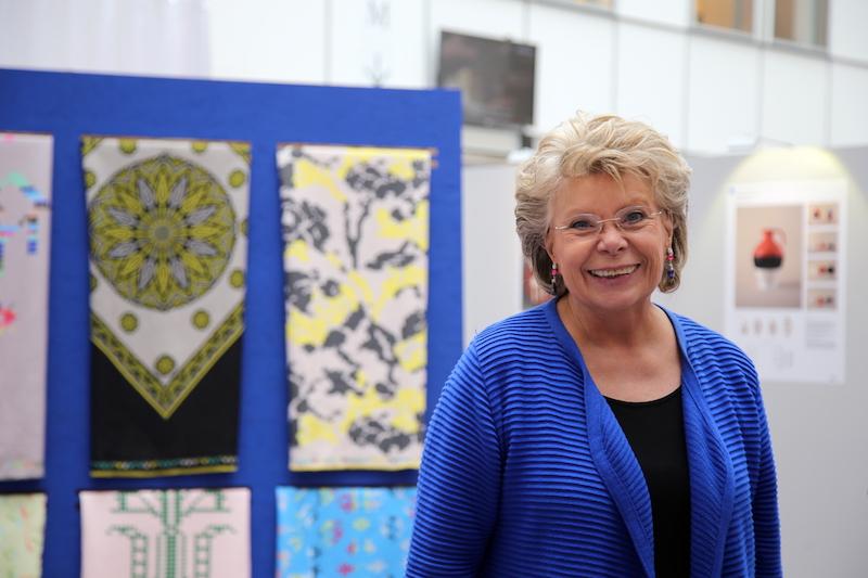 Η ευρωβουλευτής Viviane Reding