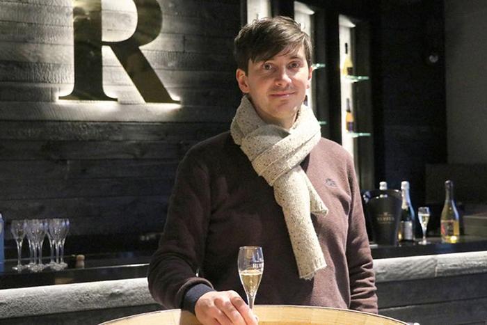 Ο βέλγος οινοπαραγωγός Αρνό Λερουά.