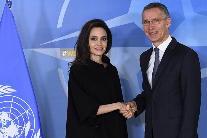 Angelina-Jolie-NATO-Headquarters-Belgium-January-2018