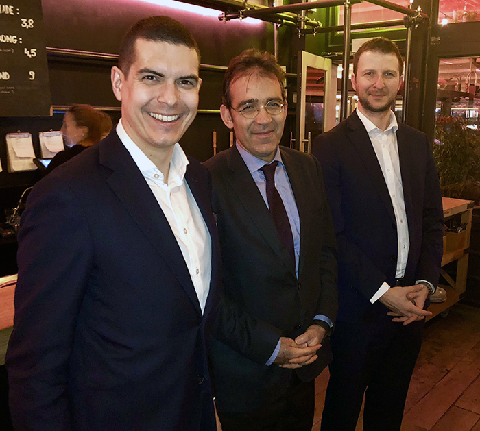 Οι κ.κ. Ανδριανός Γιάννου, Γιώργος Παγουλάτος, Αλέξανδρος Κορονάκης