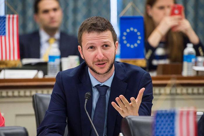 Αλέξανδρος Β. Κορονάκης, New Europe