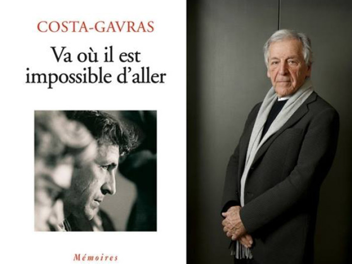 Ο Κώστας Γαβράς παρουσιάζει το νέο του βιβλίο στις Βρυξέλλες