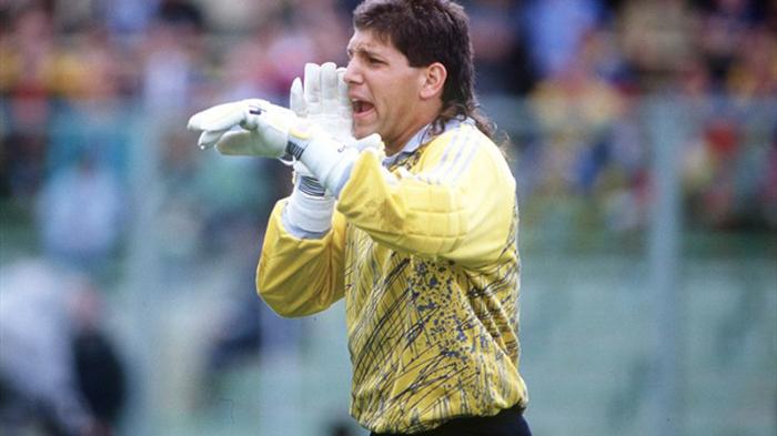 O Τόνι Μέολα (ΗΠΑ) στο Μουντιάλ του '90.
