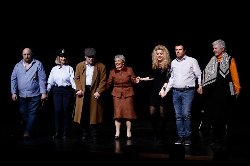 Ο ΘΕΣΠΙΣ στην Παγκόσμια Ημέρα Θεάτρου (φώτο: Αλεξ. Μιχαηλίδης / Newsville.be)