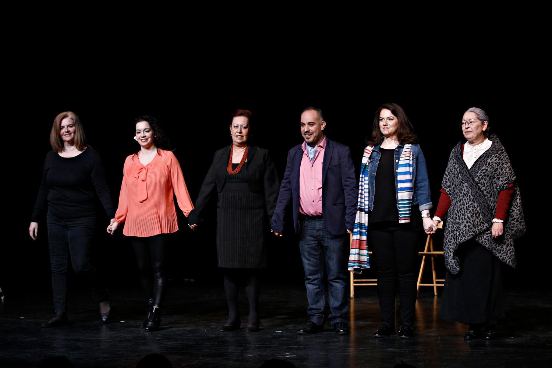 Λύκειο Ελληνίδων Βρυξελλών: Γαλάτεια Γιαλιτάκη, Μαρίνα Κόττη, Γεωργία Μανδέκη, Ηλίας Ξυδιάς, Αλίκη Σίμου, Μαρία Χούλη