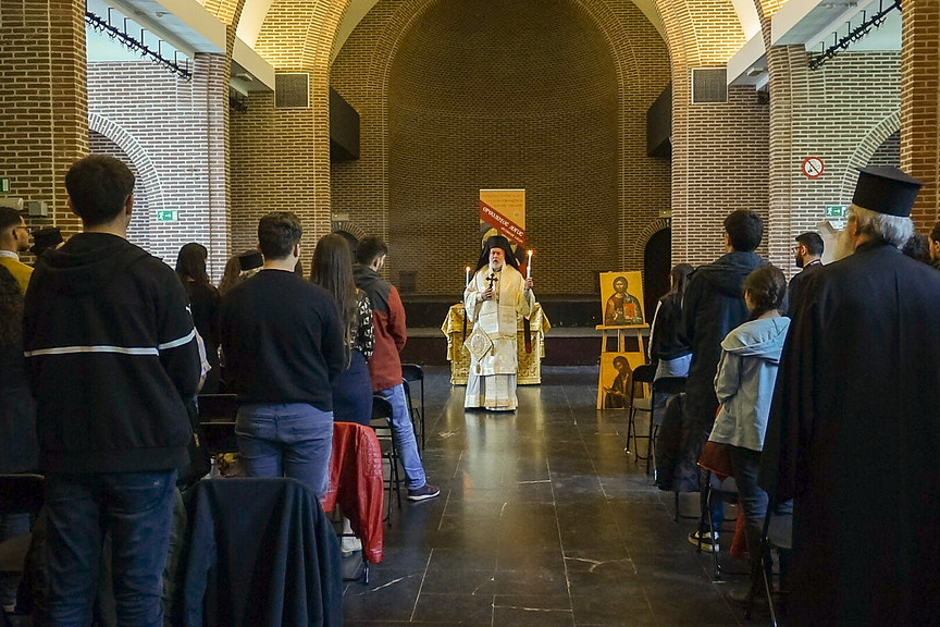 Priest and youth Gathering of the Metropolis of Benelux (1.5.201