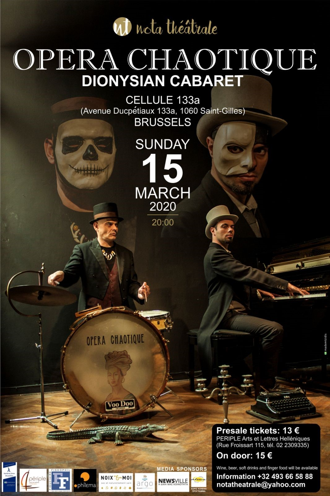 OPERA CHAOTIQUE- POSTER