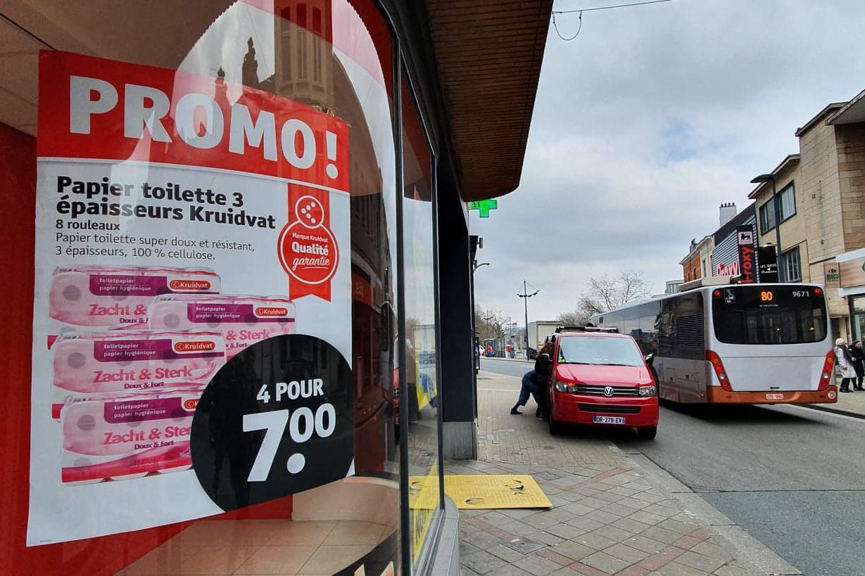 lockdown supermarket supermarche