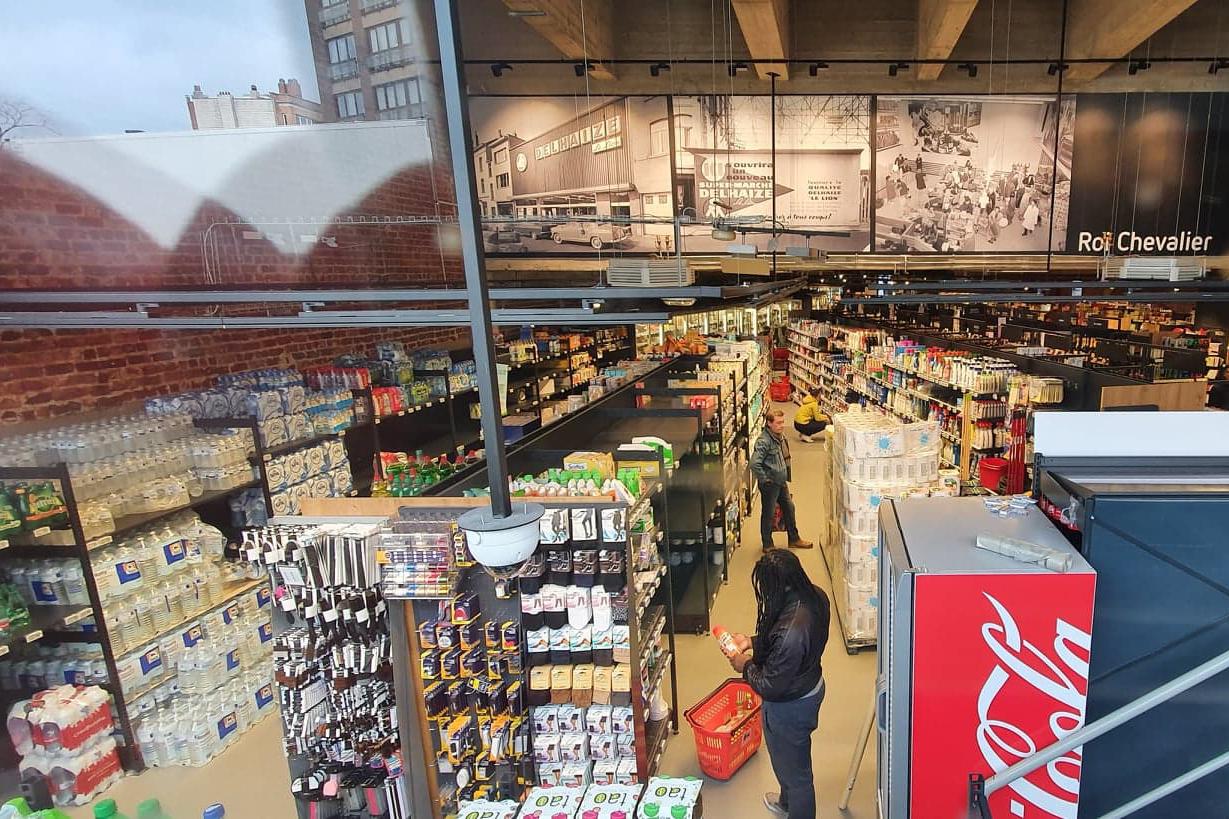 supermarche supermarket