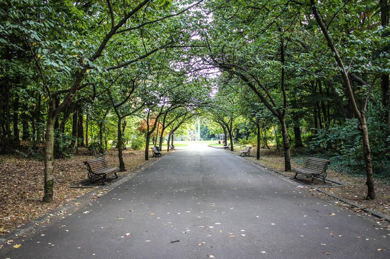 park benches parc