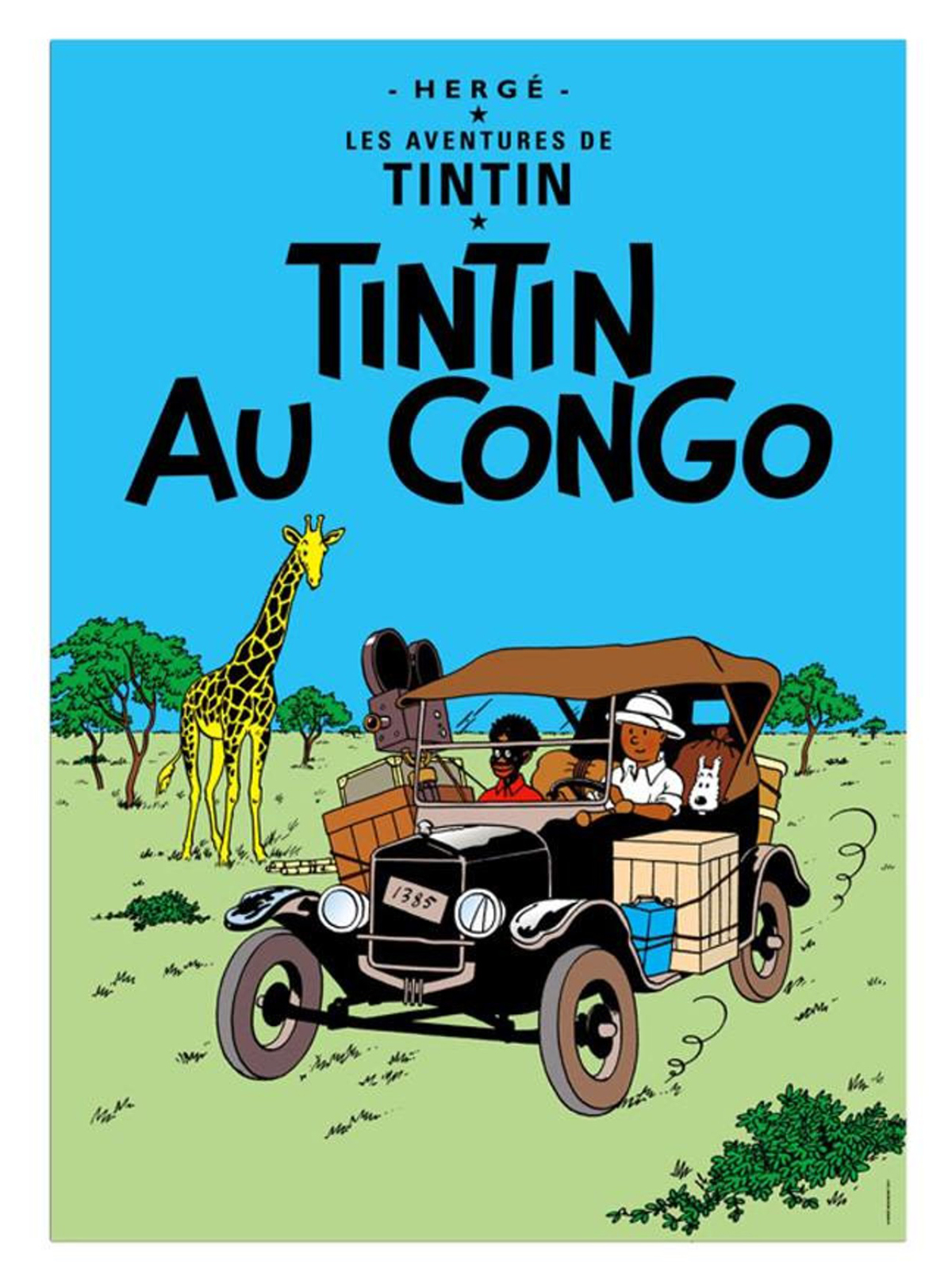 """To τεύχος """"O Τεν Τεν στο Κονγκό"""" εκδόθηκε πρώτη φορά το 1931"""