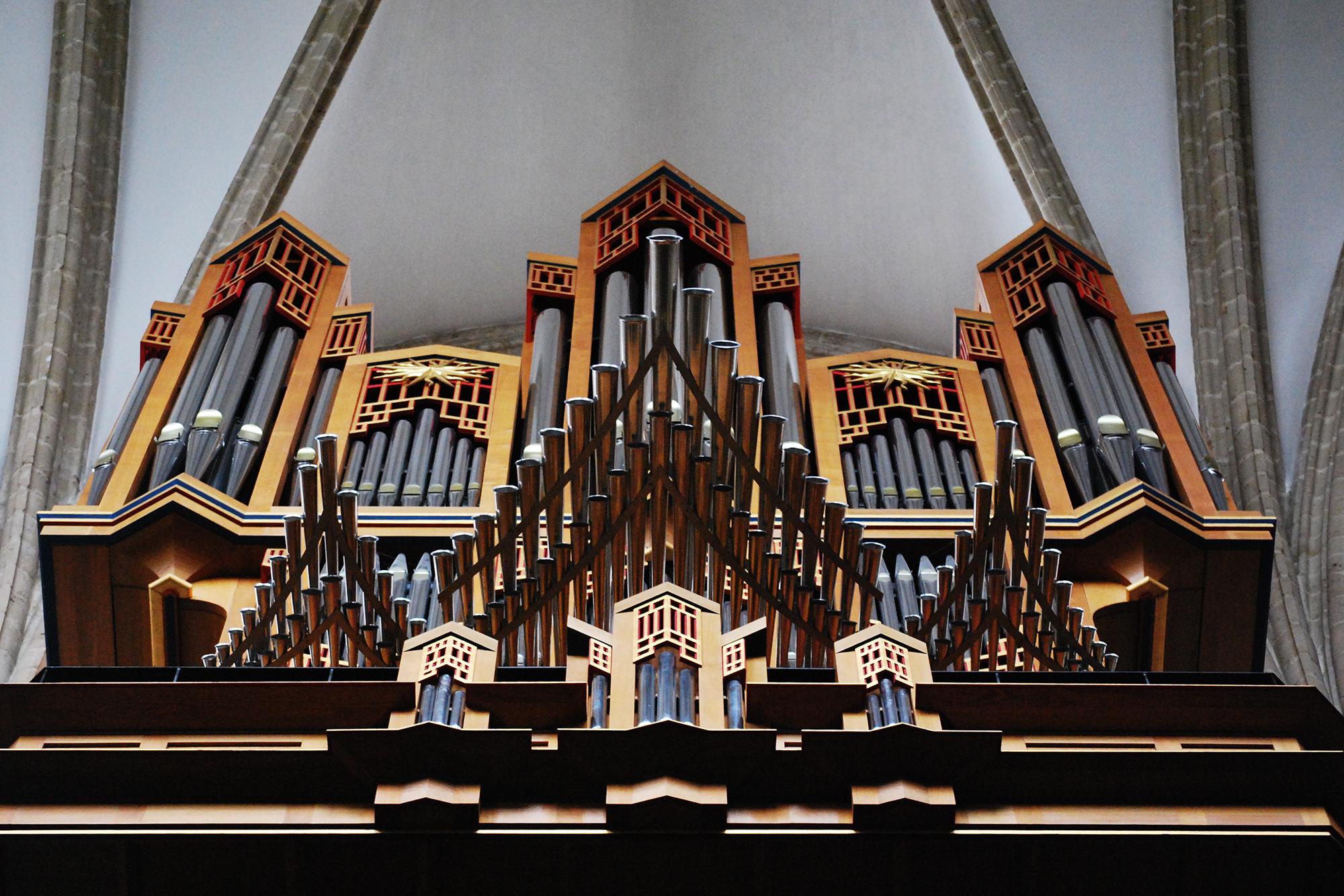 organ Cathedral of St. Michael and St. Gudula