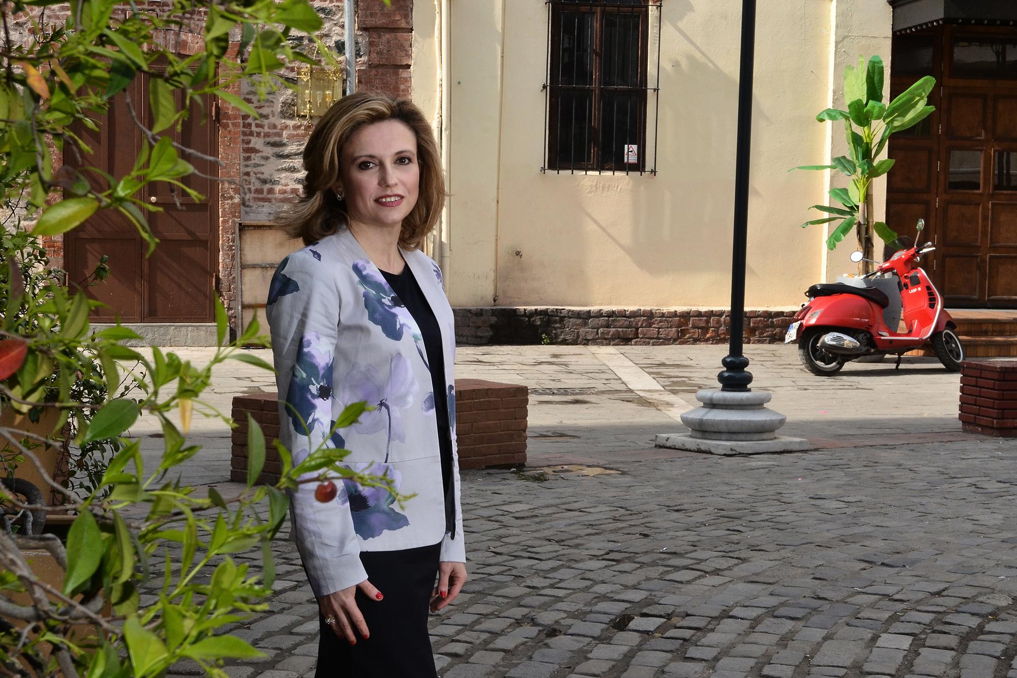 Η Πρόεδρος του ΣΠΕΚ, Σίσσυ Σιγιουλτζή-Ρουκά
