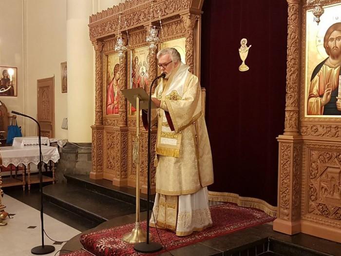 Δοξολογία για την επέτειο της 28ης Οκτωβρίου στην Ιερά Μητρόπολη Βελγίου