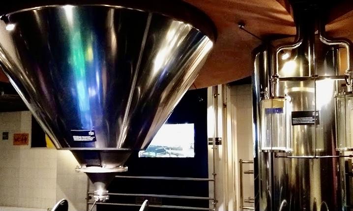 beer museum interior