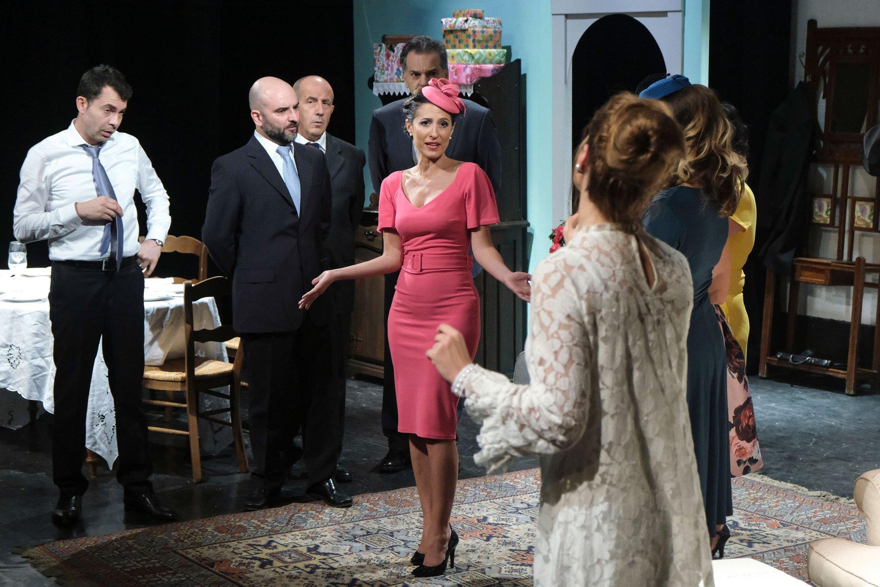 Δέσποινα Χαμλατζή, «Η γυνή να φοβήται τον άνδρα», Ελληνικό Θεατρικό Εργαστήρι 2019