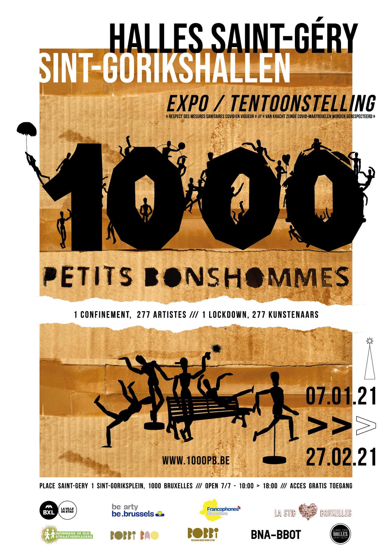 1000 Petits Bonshommes affiche