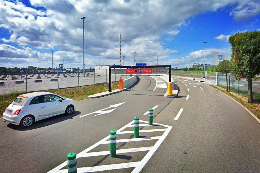 Rue Charles Lindbergh - Charleroi Express Parking
