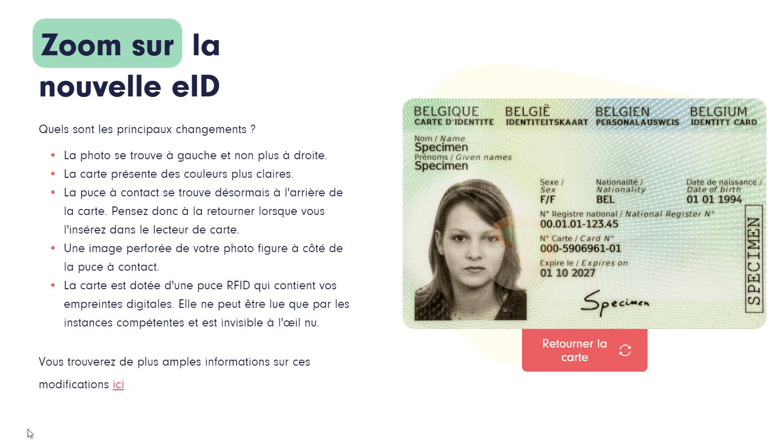 eID new identity card