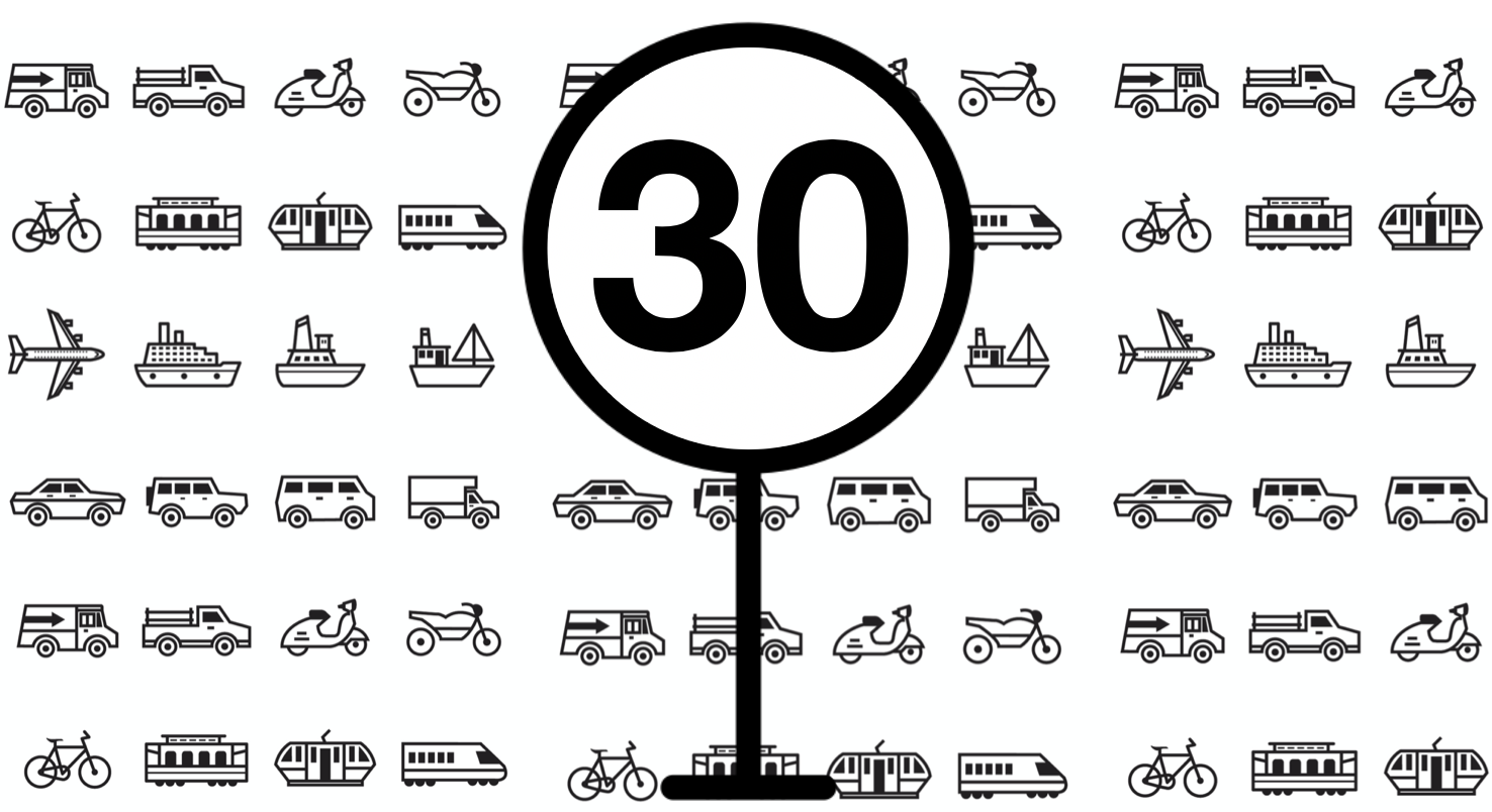 Figure 1. The relationship between impact speed and fatality risk of pedestrians in crashes with a passenger car according to some recent studies (in: Rosén et al., 2011 [5](link is external)). The photo credit - Titusurya / FreePik / vecco, The Noun Project