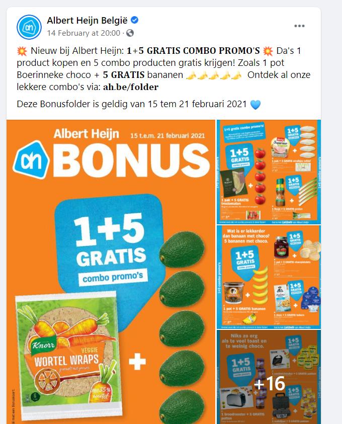 Albert Heijn België _ Facebook
