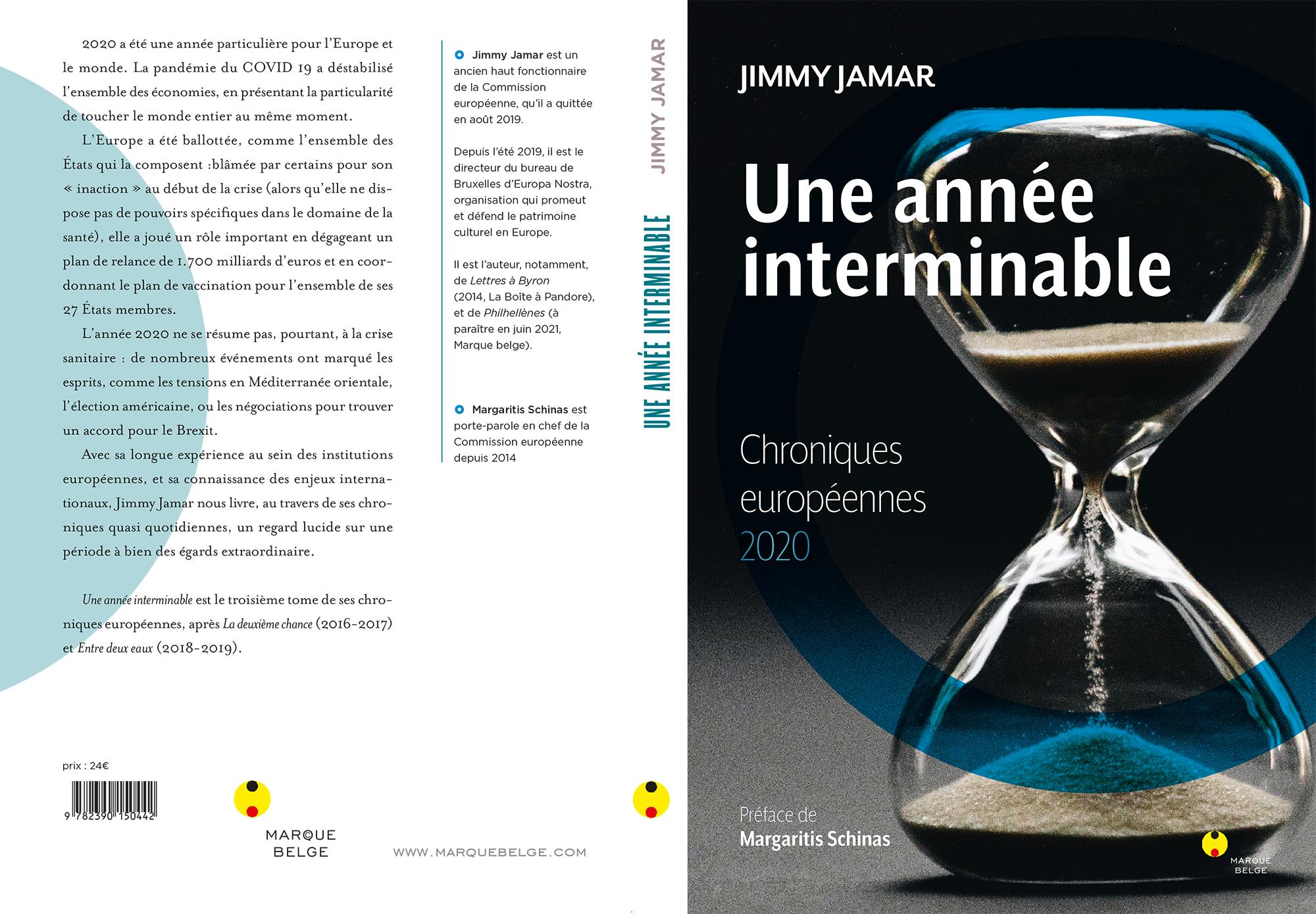 Chroniques 2020 book livre jamar
