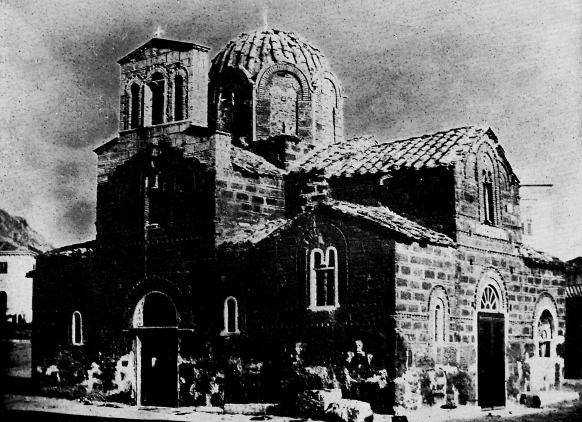 Η εκκλησία των αγίων Θεοδώρων, 1842. Joseph-Filibert Girault de Prangey