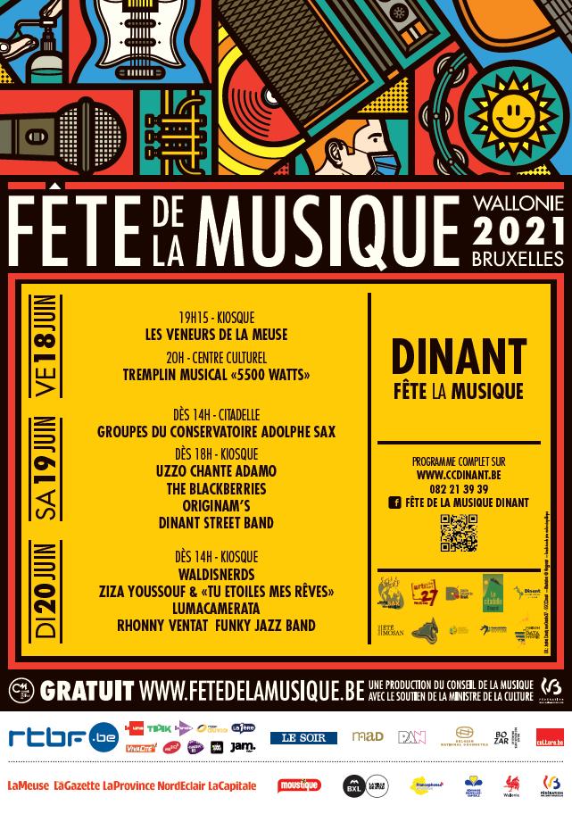 Fête de la Musique programme 2021