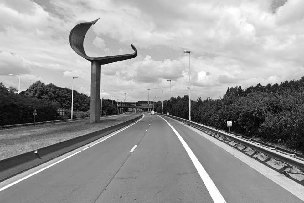 « signal de Grand-Bigard » E40 ring de Bruxelles