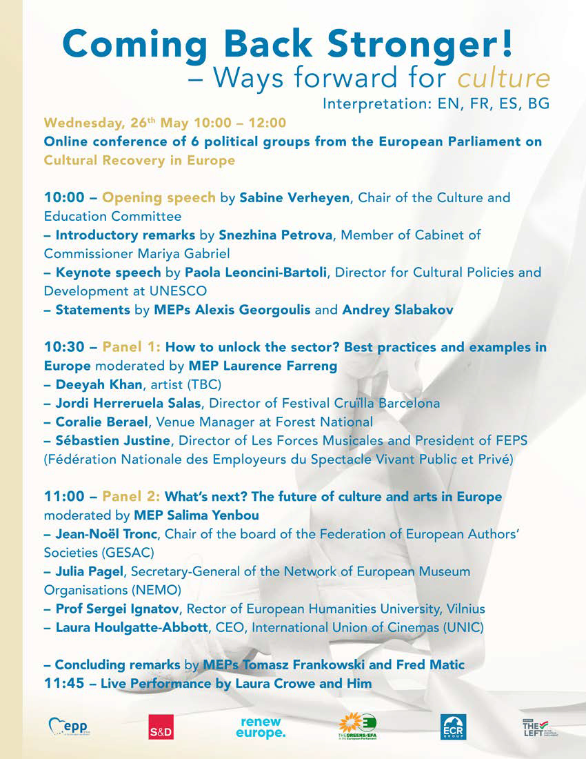programme -ways forward for culture (Low res)