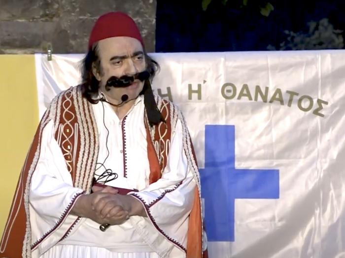 «Γεώργιος Καραϊσκάκης»: Δύο παραστάσεις με την υπογραφή του σκηνοθέτη Αριστείδη Λαυρέντζου